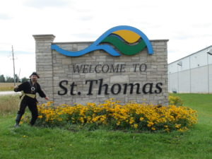 Magic pirate, magic show, st. Thomas Ontario, Ontario magician