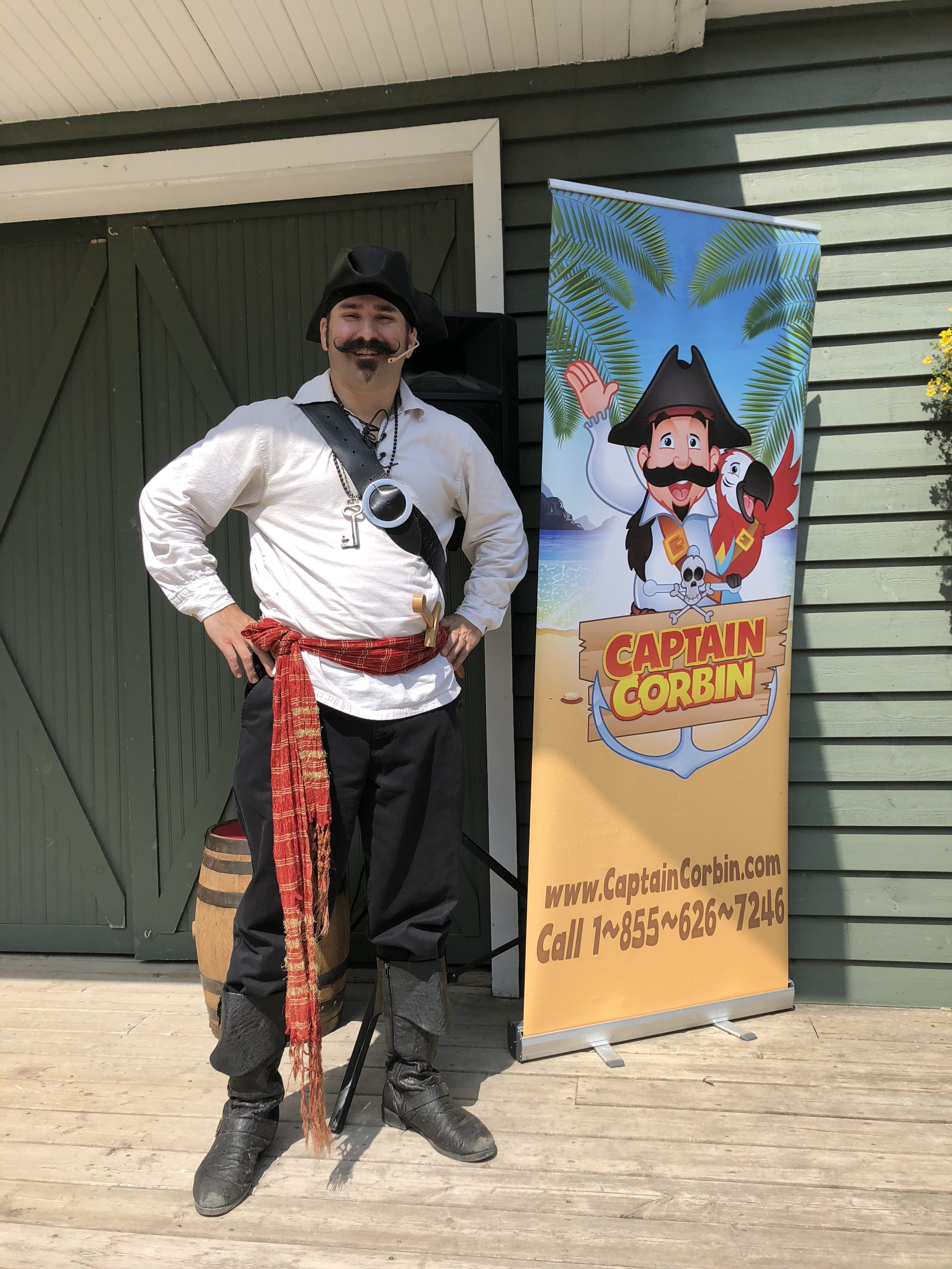 pirate magic, pirate magician, chatham-Kent, Library entertainer, children's entertainer