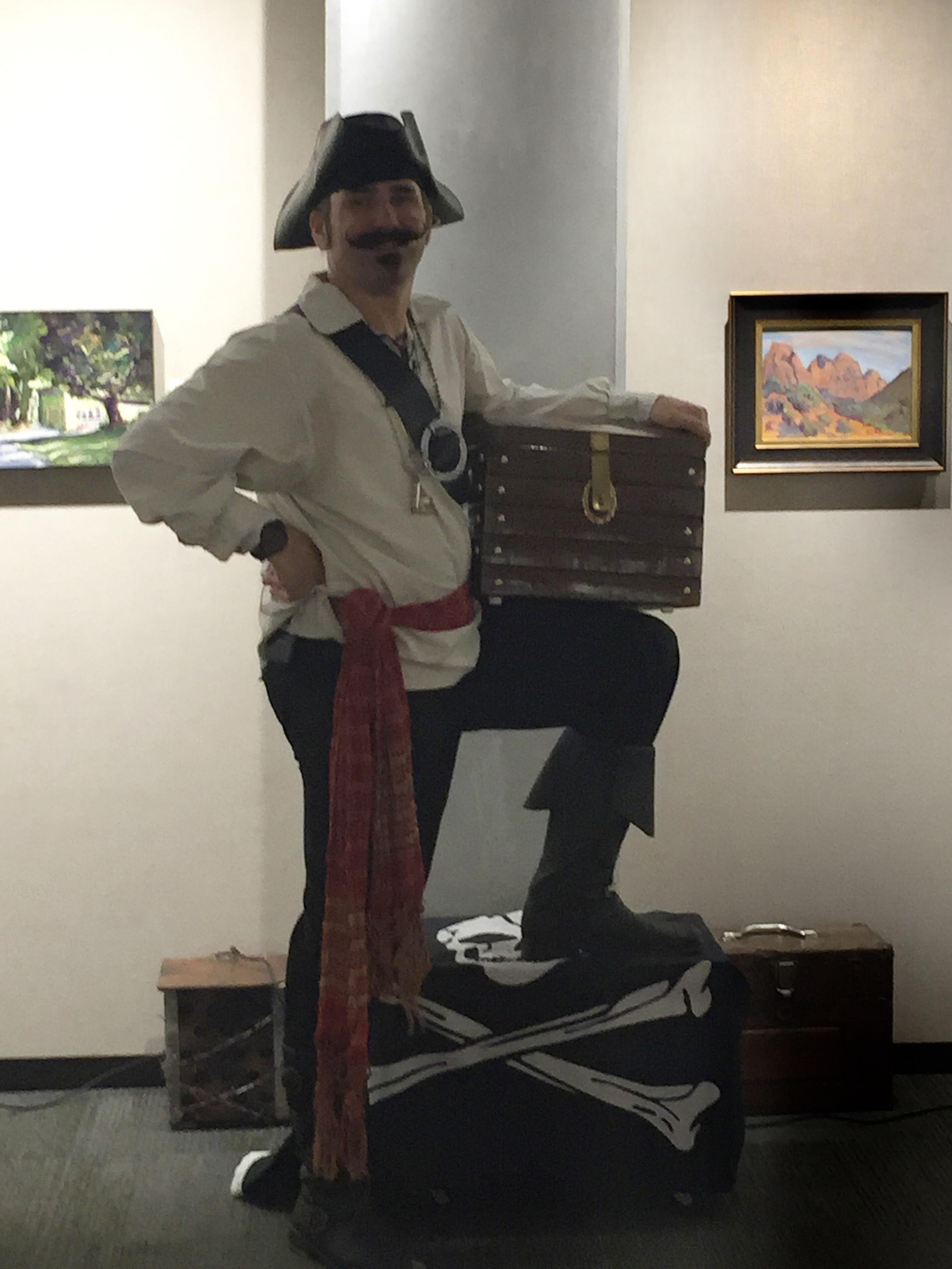 Pirate magician, magic pirate, magic show
